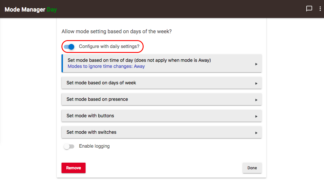 Mode Manager 2.6.112 - Enable Configure based on days of week.png
