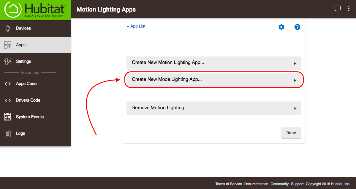 File:Create new Mode Lighting app.png
