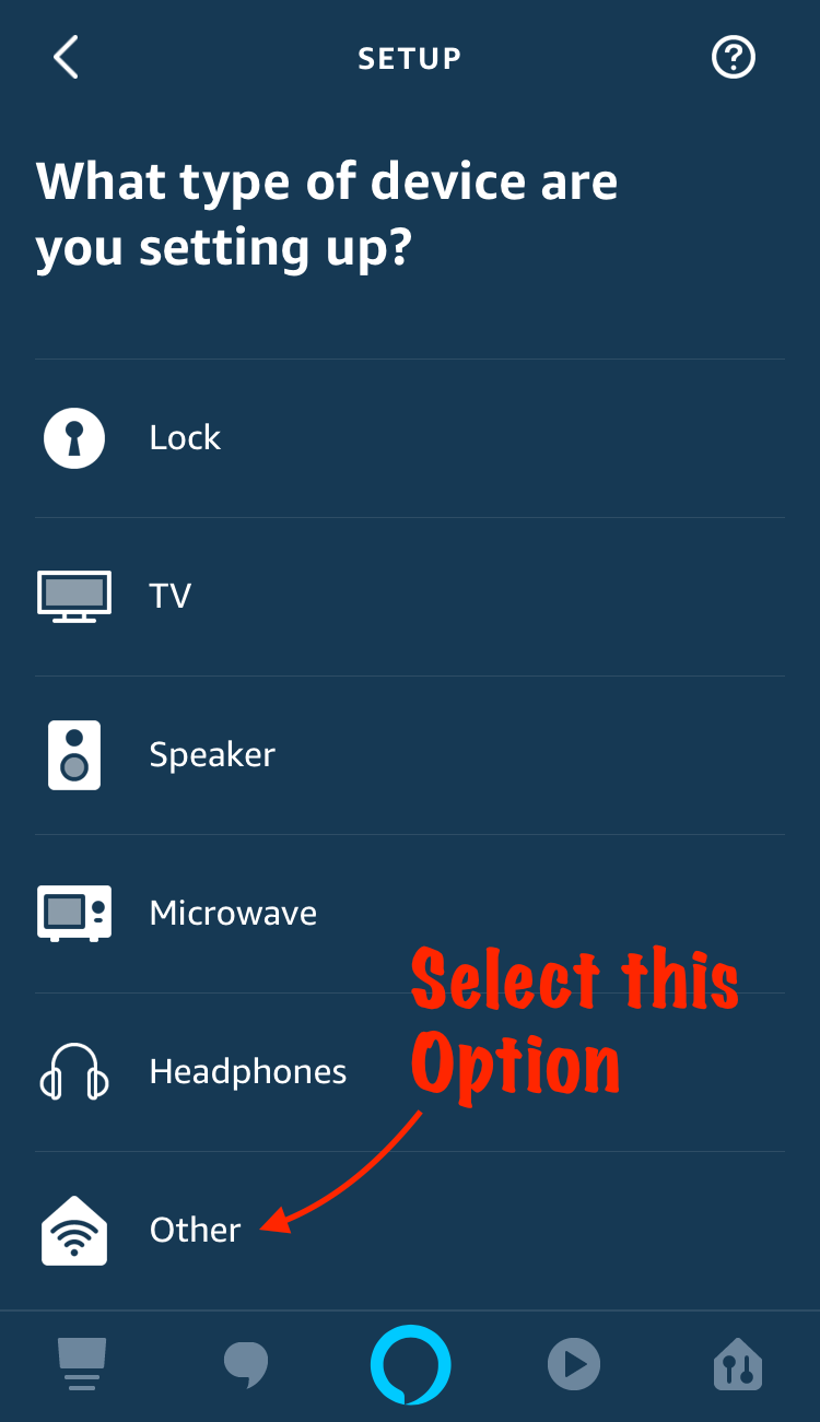 Alexa app Other device type.png