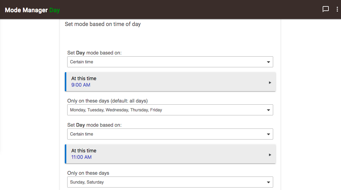 Mode Manager 2.6.112-Set different times based on day.png