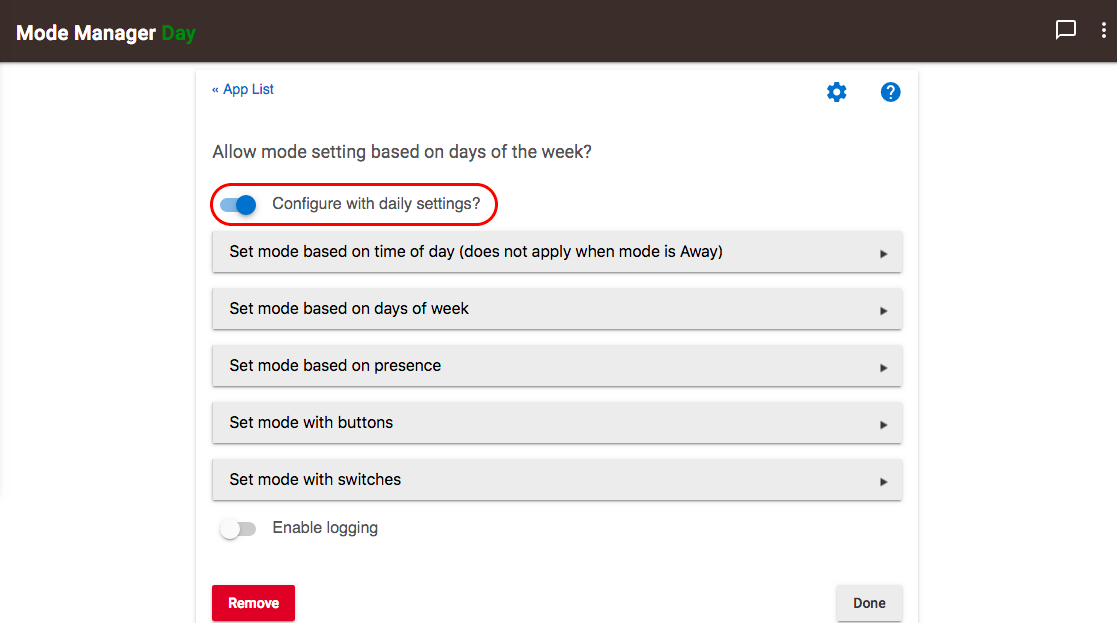 Mode Manager 2.6.112 - Allow based on days of week.png